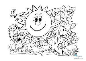 Dibujos Para Pintar Y Colorear Faciles Mas De 100 Pequeocio
