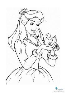 Princesas para colorear