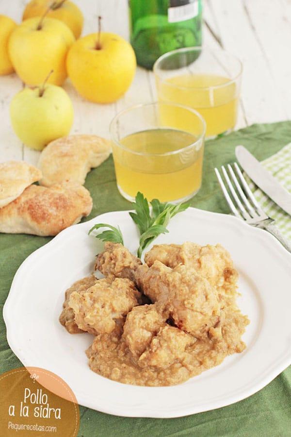 Recetas de pollo en salsa
