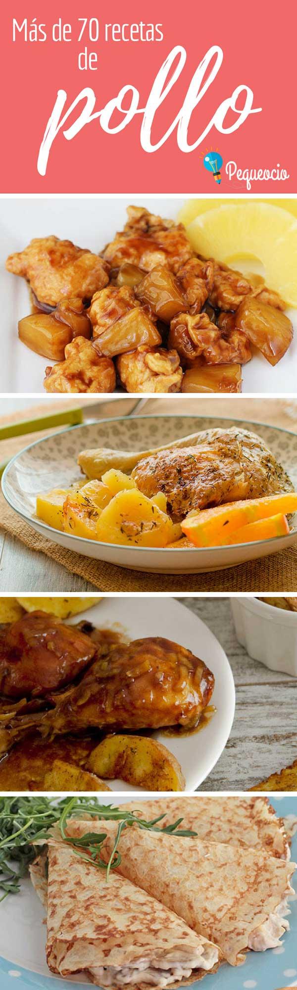 recetas de pollo faciles