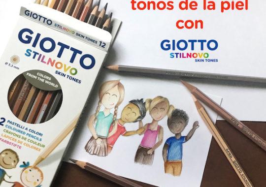 Todos los tonos de la piel con los lápices Giotto Stilnovo Skin Tones 2