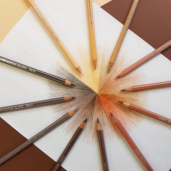 Todos los tonos de la piel con los lápices Giotto Stilnovo Skin Tones 4