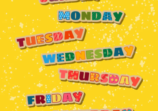 Los Días De La Semana En Inglés Apréndelos De Forma Fácil Pequeocio