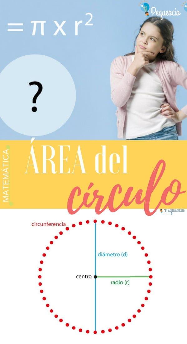 área círculo