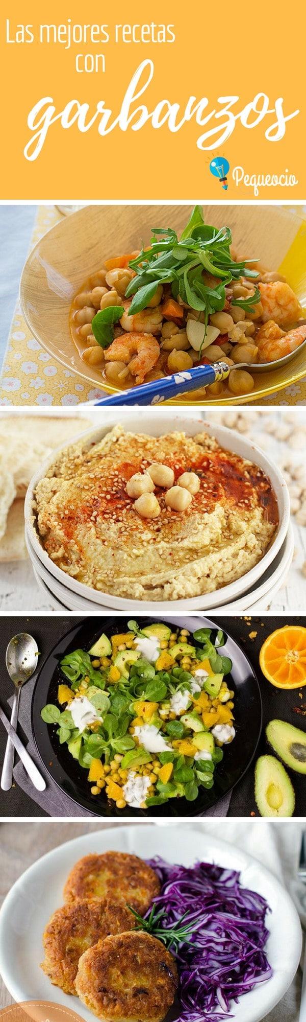 10 recetas con garbanzos (fáciles y muy ricas) 1