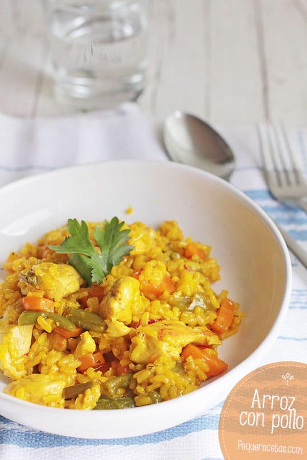 Recetas de arroz con pollo
