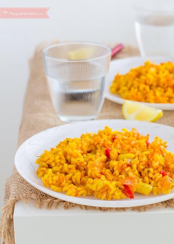 Recetas con arroz y verduras
