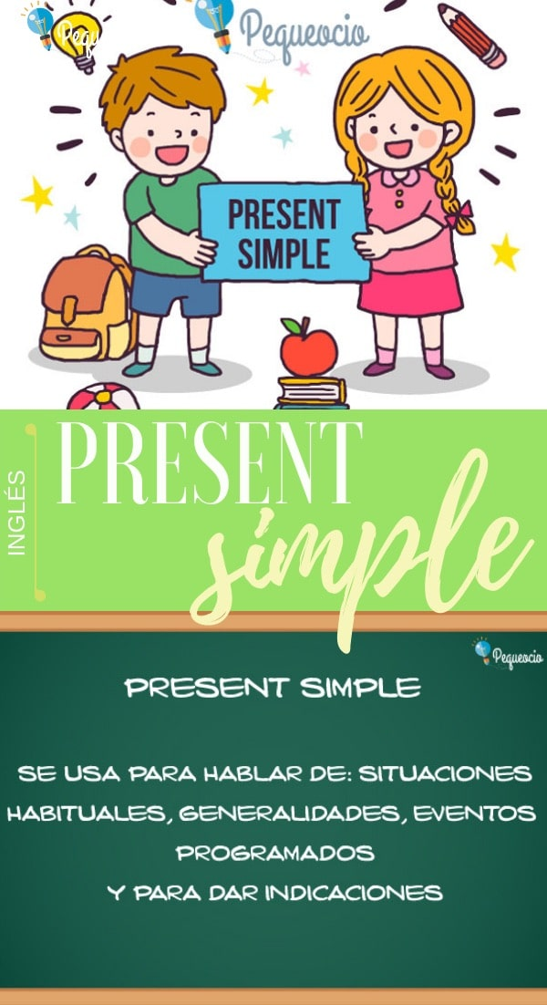 Present simple en inglés