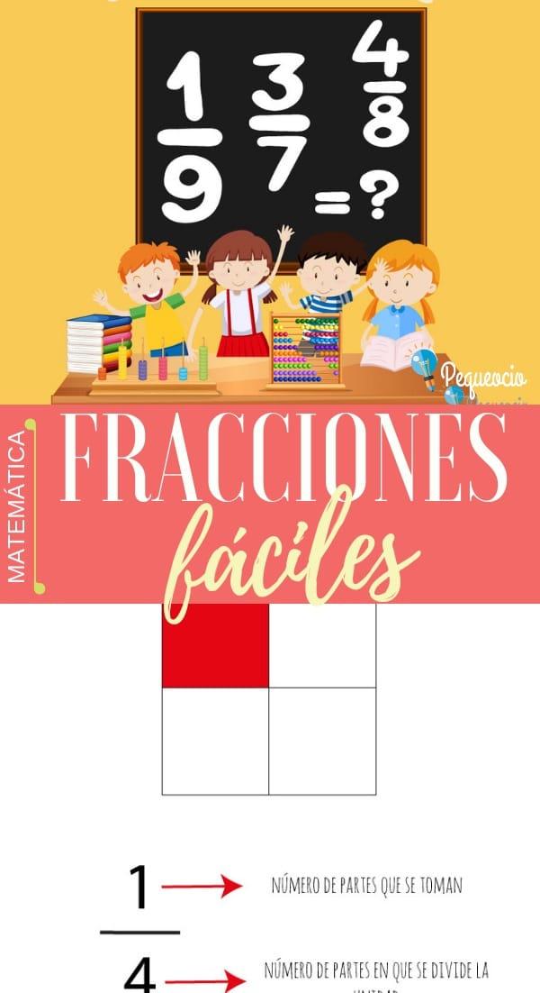 Fracciones para niños de primaria