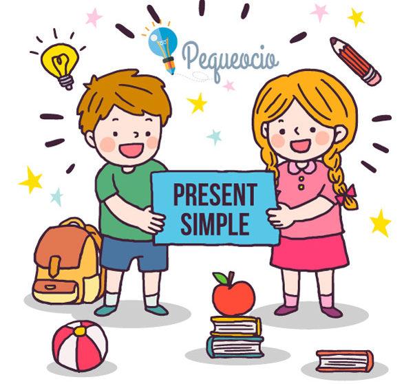 Ejercicios de presente simple en ingles para niños imprimir