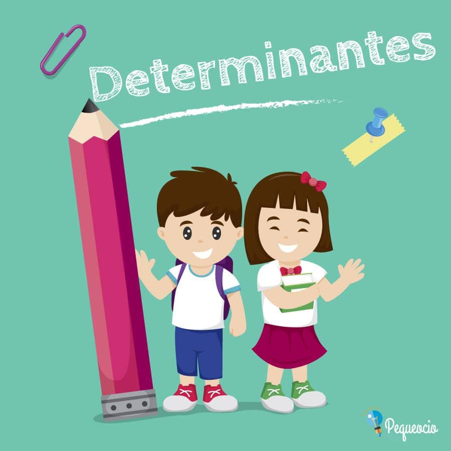 Clases de determinantes