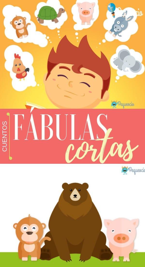 Fábulas cortas para niños, historias con moraleja para aprender valores y lecciones de vida. Fábulas de Esopo, fábulas de animales y mucho más.