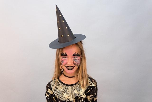 Maquillaje para Halloween: Bruja con Giotto Make Up 10