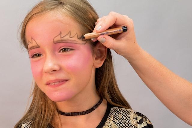 Maquillaje para Halloween: Bruja con Giotto Make Up 2