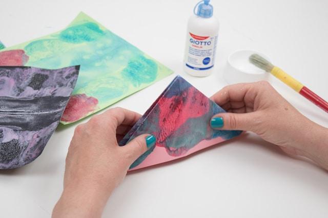 Cómo hacer una mariposa origami