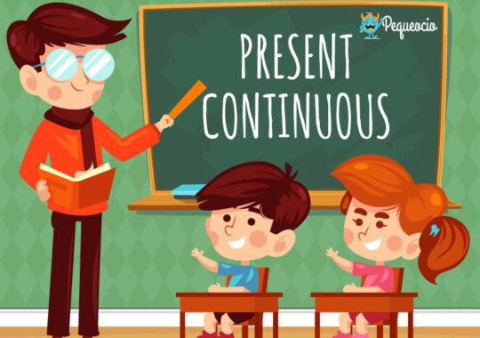 Oraciones con present continuous