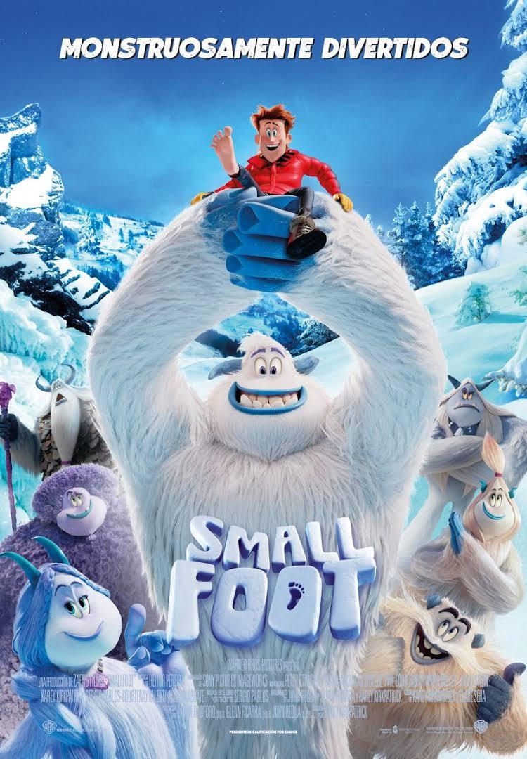 Small Foot poster pelicula