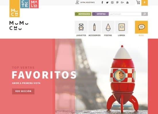 tienda de juguetes online mumuchu