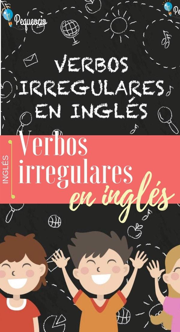 Inglés verbos irregulares