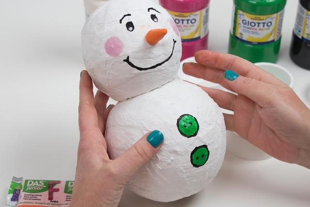 Muñeco de nieve para Navidad 3