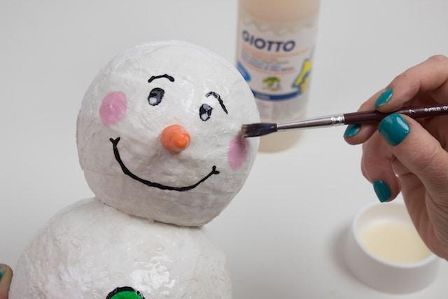 Muñeco de nieve para Navidad 4