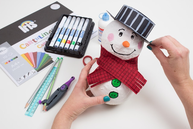 Muñeco de nieve para Navidad 8