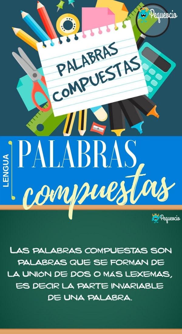 Palabras compuestas español