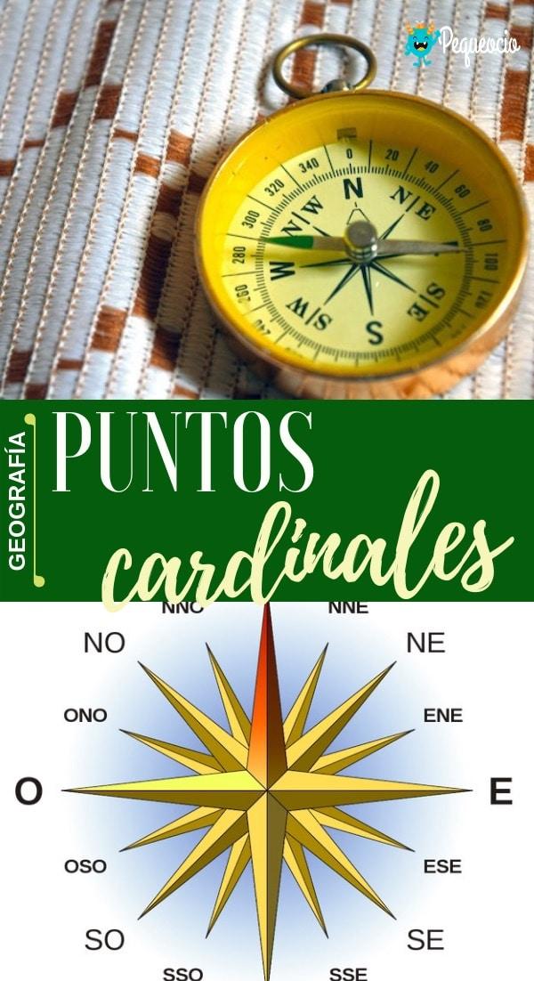 Cómo orientarse con los puntos cardinales