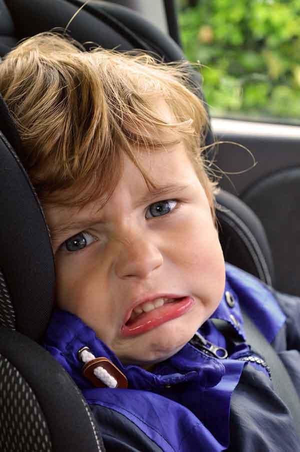 viajes con niños en coche consejos