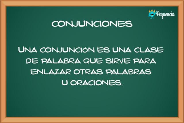 Qué son las conjunciones