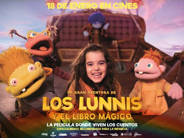 Los Lunnis pelicula infantil