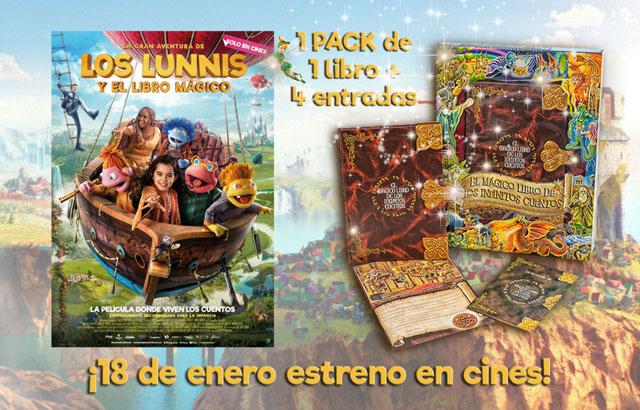 SORTEO: ¡Gana entradas para el cine + un libro mágico! 2