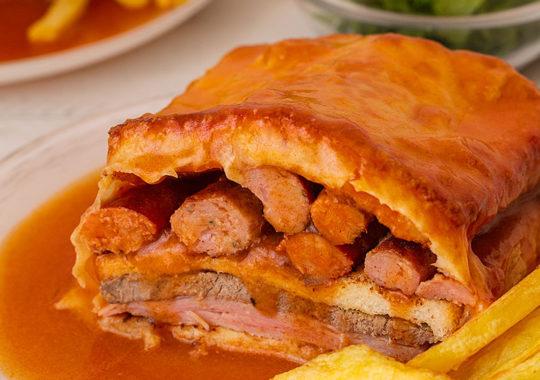 Cómo hacer sandwich Francesinha Oporto