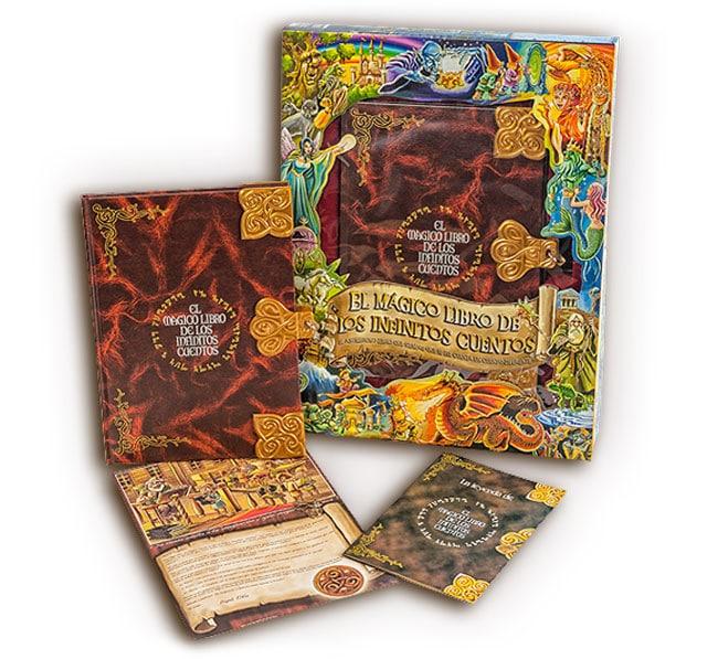 libro magico infinitos cuentos