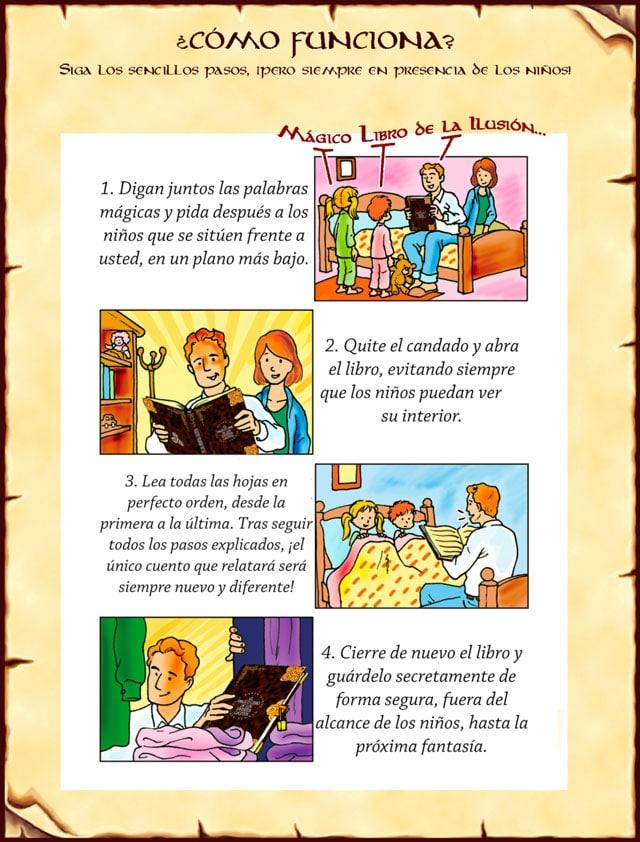 magico libro infantil