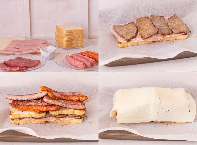 Francesinha receta sandwich