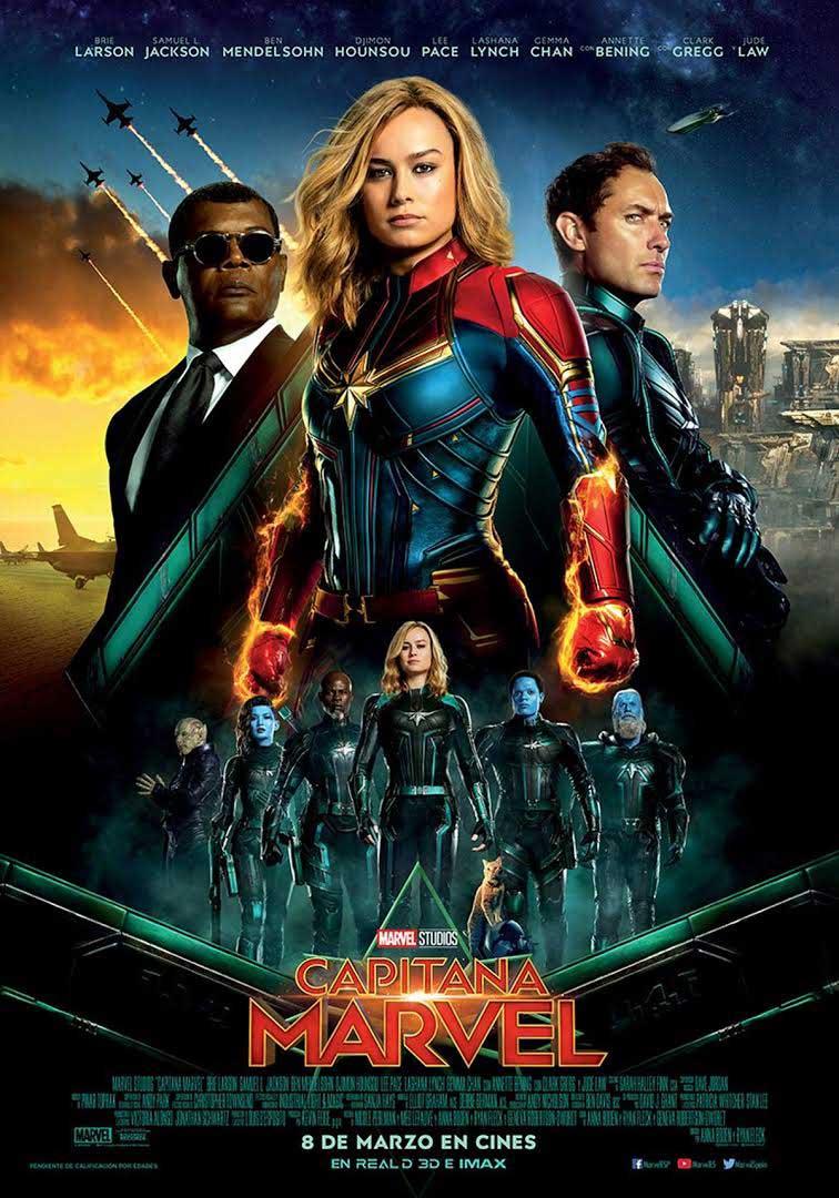 capitana Marvel cartel película