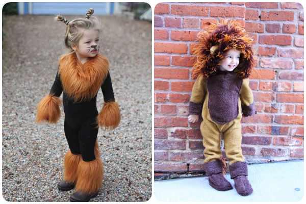 disfraz leon