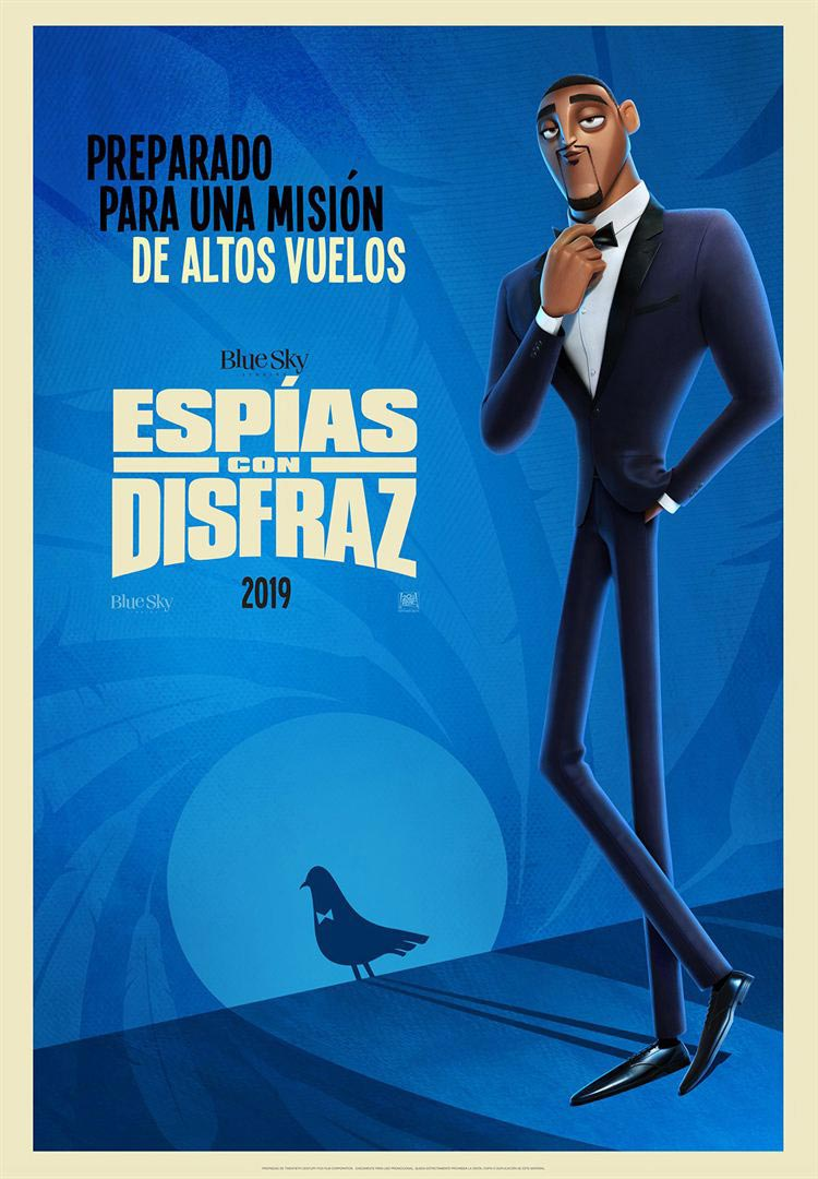 Espías con disfraz película