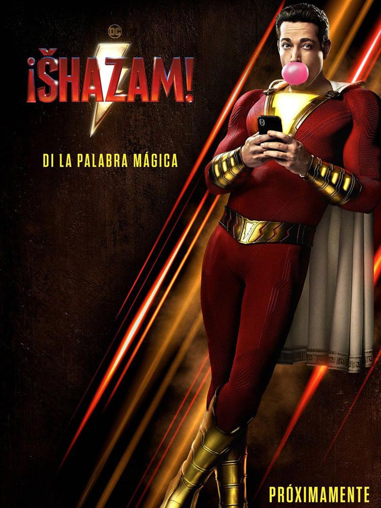 Shazam superheroe pelicula dc comic