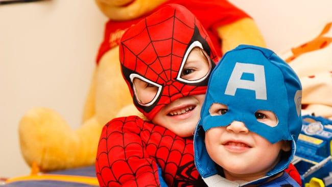 superheroes disfraz
