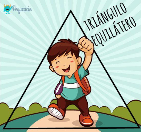 Qué es un triángulo equilátero