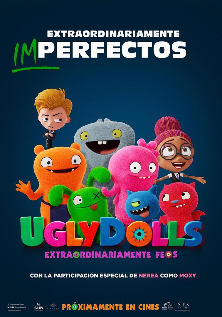 Uglydolls extraordinariamente feos