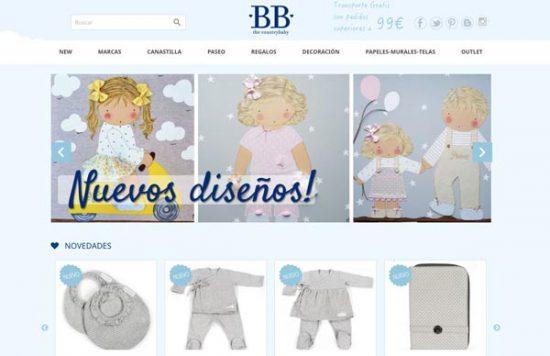 BB the countrybaby tienda bebés