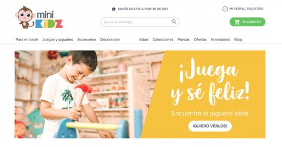 Minikidz tienda online juguetes