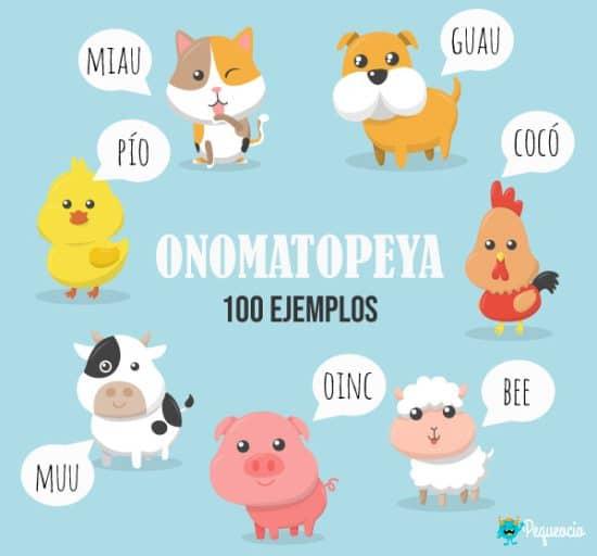 Onomatopeya ejemplos