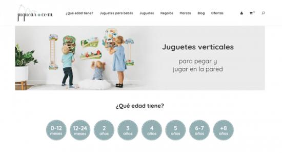 Tienda online juguetes Juguear