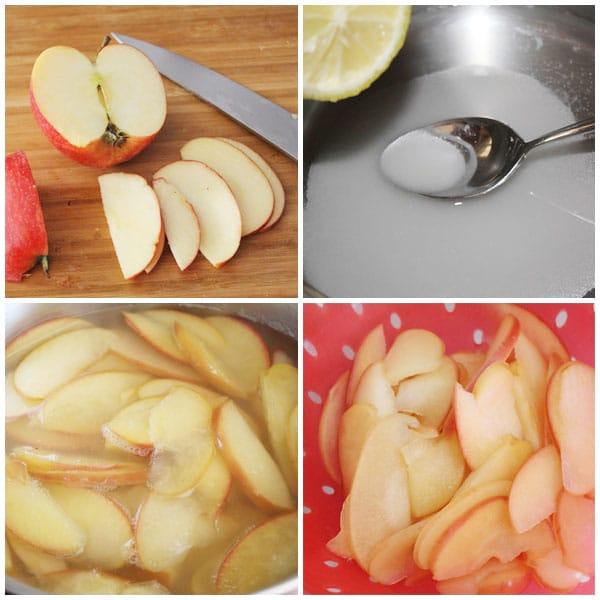 rosas de manzana y hojaldre receta