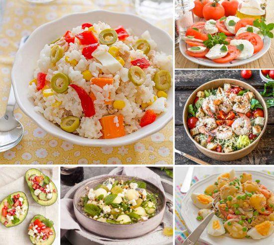 ensaladas de verano faciles