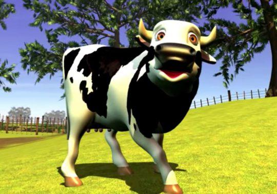 La vaca Lola en ingles